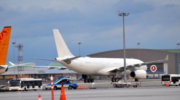 Türkiye Cumhuriyeti'nin Yeni Uçağı Tc-tur Sabiha Gökçen Havalimanı'na İndi
