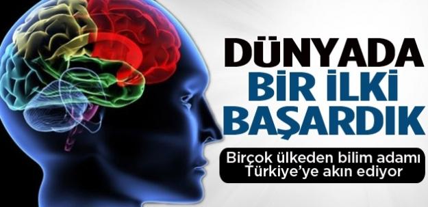 Türkiye dünyada bir ilki başardı!
