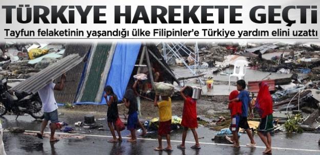 Türkiye Filipinler için harekete geçti...