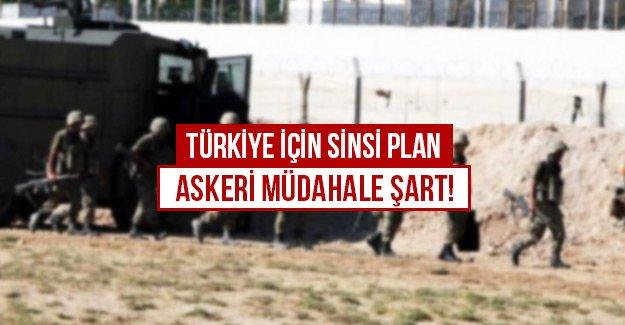 Türkiye için sinsi plan, Askeri müdahale şart!