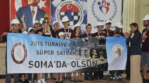 Türkiye İş Bankası Süper Satranç Ligi Şampiyonu İtü Oldu