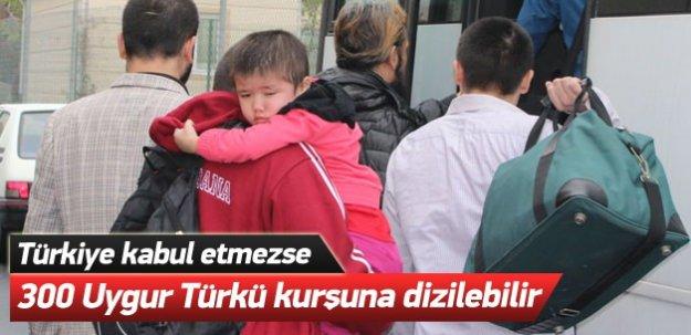Türkiye kabul etmezse 300 Uygur Türkü kurşuna dizilebilir!