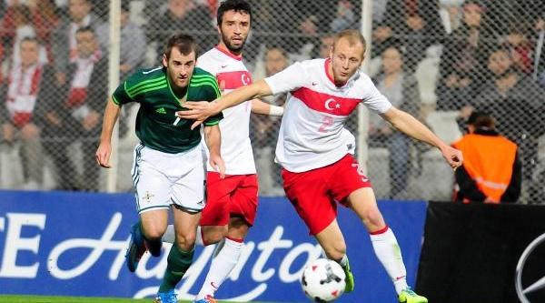 Turkiye - Kuzey Irlanda Milli Maç Fotoğraflari