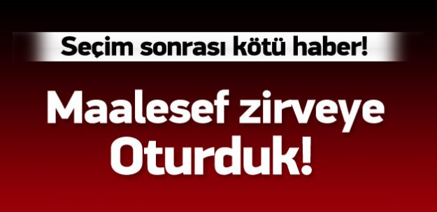 Türkiye maalesef o ligde zirveye oturdu