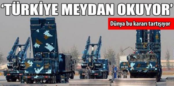 Türkiye meydan okuyor!