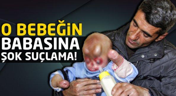 Türkiye'nin yüreğini sızlatan bebeğin babası hakkında şok iddia!