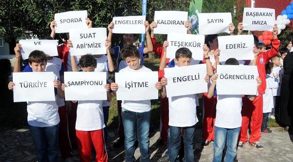 Türkiye Olimpiyat Hazirlik Merkezi Samsun'da Açildi