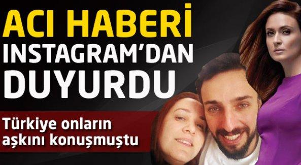 Türkiye onların aşkını konuşmuştu! Acı haberi İnstagram'dan duyurdu!