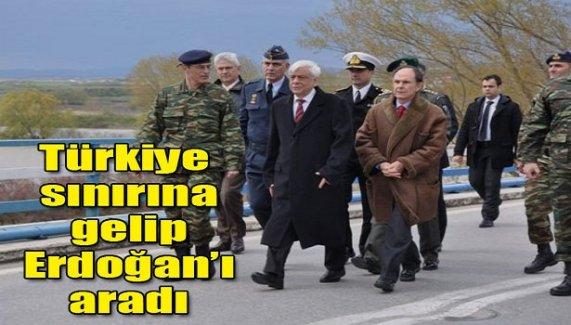 Türkiye sınırına gelip Erdoğan'ı aradı