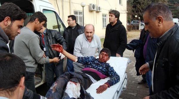 Türkiye Sinirinda Carablus'daki Patlamada Çok Sayida Suriyeli Yaralandi