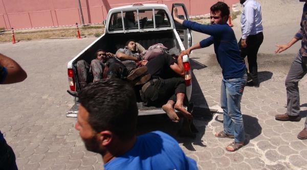 Türkiye Sınırında Patlamada Çok Sayıda Suriyeli Yaralandı - Fotoğraflar