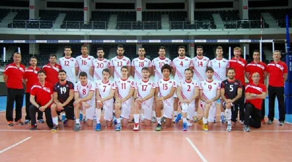 Türkiye-slovakya Voleybolda Yarı Finali Oynuyor