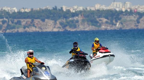 Türkiye Su Jeti Şampiyonasi, Antalya'da Sona Erdi