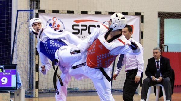 Türkiye Tekvando Şampiyonasi Sona Erdi