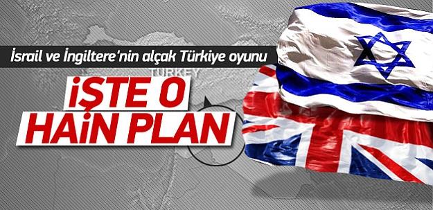 Türkiye üzerinde alçak plan