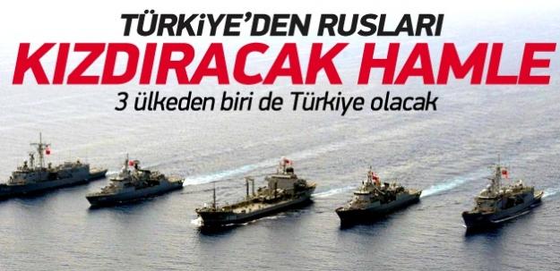Türkiye ve 2 ülkeden ortak tatbikat