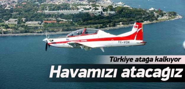 Türkiye yerli uçak üretimi için atağa kalkıyor