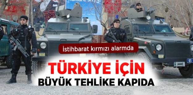 Türkiye'de 47 Örgüte Karşı Kırmızı Alarm