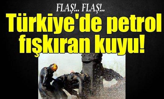 Türkiye'de 67 yıldır petrol fışkıran kuyu