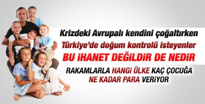 Türkiye'de doğum kontrolü isteyenler Avrupa'yı görmüyor