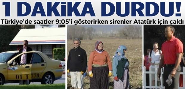 Türkiye'de saatler 9'u 5 geçe durdu!
