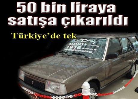 Türkiye'de tek! 50 bin liraya satılıyor