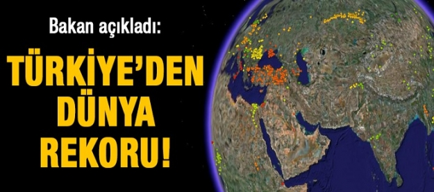 Türkiye'den dünya rekoru!