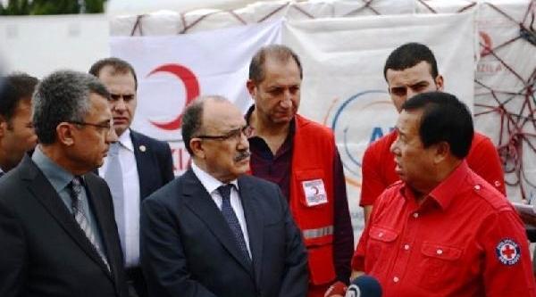 Türkiye'Den Gönderilen Insani Yardimlar Filipinler'E Ulaşti