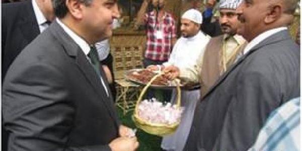 Türkiye'nin Bağdat Büyükelçisi Kaymakci, Bağdat Günü Kutlamalarina Katildi