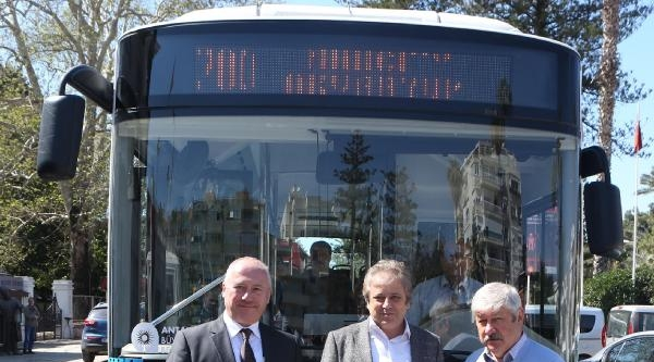Türkiye'nin İlk Elektrikli Otobüsü Antalya Yollarında