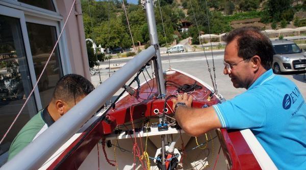 Türkiye'nin İlk Paralimpik Yelkenlisi Marmaris'te