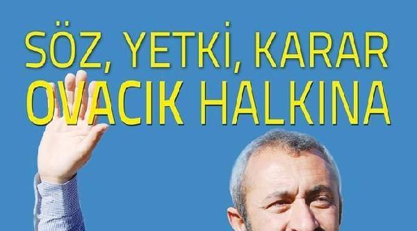 Türkiye'nin İlk Tkp'li Belediye Başkanı Ovacık'ta Seçildi
