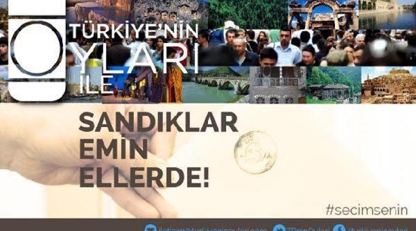 Türkiye'nin Oyları 10 Bin Gönüllüyle Sandık Başında