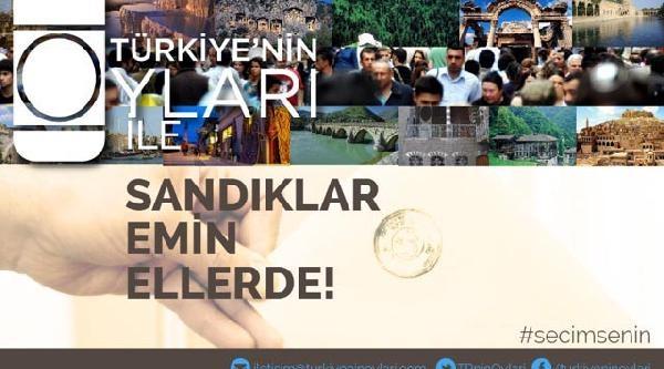 Türkiye'nin Oyları Platformu 'seçim Gözetmeni' Arıyor