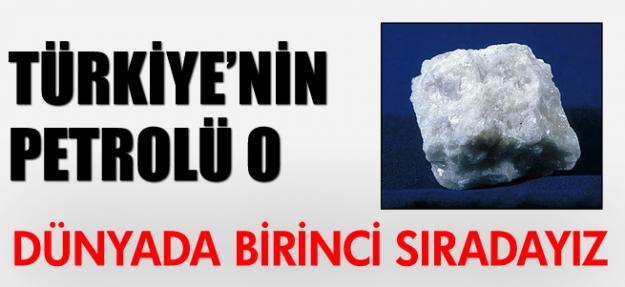 Türkiye'nin petrolü o