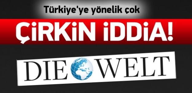 Türkiye'ye yönelik çirkin iddia!