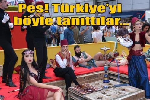 Türkiye'yi böyle tanıttılar!