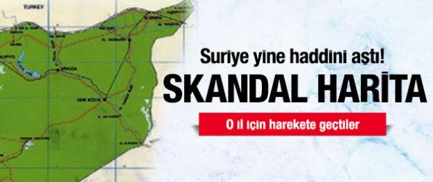 Türkiye'yi kızdıracak harita!