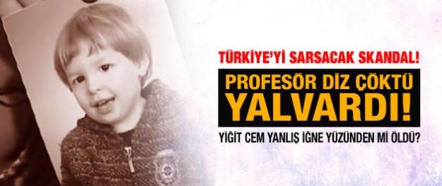 Türkiye'yi sarsacak sağlık skandalı! Profesör diz çöktü yalvardı!
