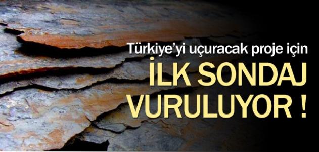 Türkiye'yi uçuracak proje için ilk sondaj vuruluyor...