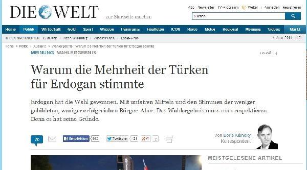 Türklere Hakaret Ettiği Gerekçesiyle Alman Gazetesinden Şikayetçi Oldu