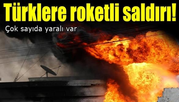 Türklere roketli saldırı! Çok sayıda yaralı var...