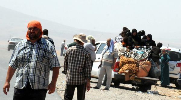 Türkmenler Katliamdan Böyle Kaçıyor