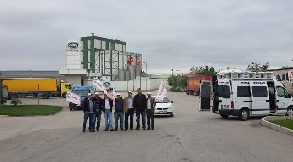 Tüsiad Başkanının İstifasina Neden Olan Fabrika Önündeki Eylem Devam Ediyor