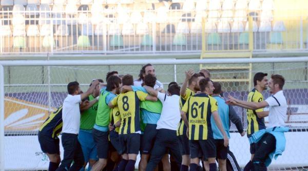 Tuzlaspor-menemen Belediyespor: 4-6 (penaltılarla)