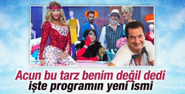 TV8 yarışmanın ismini İşte Benim Stilim olarak değiştirdi
