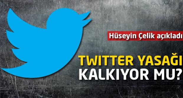Twitter yasağı kalkıyor mu? Bakan açıkladı...