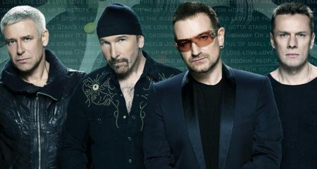 U2'dan Mandela'ya şarkı...