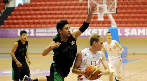 U-21 Dünya İşitme Engelliler Basketbol Şampiyonasi Başladı