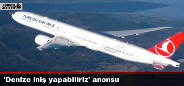 Uçakta 'denize iniş yapabiliriz' anonsu